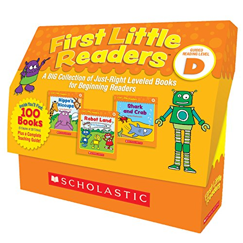 First Little Readers: Guided Reading Level D: A BIG Collection of Just-Right Leveled Books for Beginning (Leveled Readers Guided Reading)