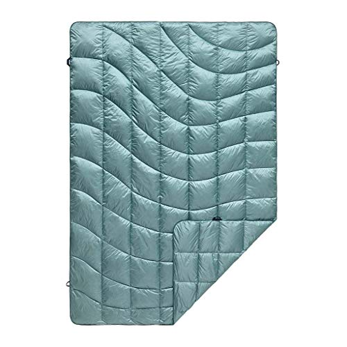 Rumpl The Down Puffy Indoor/Outdoor Blanket, Glacier Blue, Throw (Last Season)