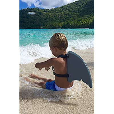 Fin Fun Shark Fin for Swimming and Costume (Gray): Toys & Games