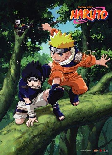 Great Eastern Entertainment Naruto and Sasuke Wall Scroll, 3