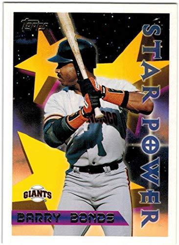 1996 Topps San Francisco Giants Team Set with Matt Williams & 2 Barry Bonds - 14 Cards