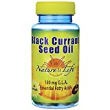 Nature's Life Black Currant Seed Oil, 1200 Mg, 180 mg GLA, 60 Softgels