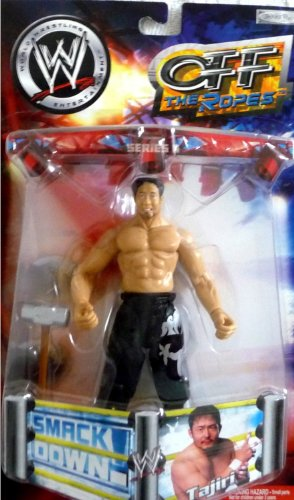 (TAJIRI - WWE Wrestling Wrestling Exclusive Off the Ropes Series 6 Toy Figure by Jakks Pacific figure doll toy ( parallel import ))