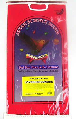 (Volkman Seed Avian Science Super Lovebird/ Conure 20lb)