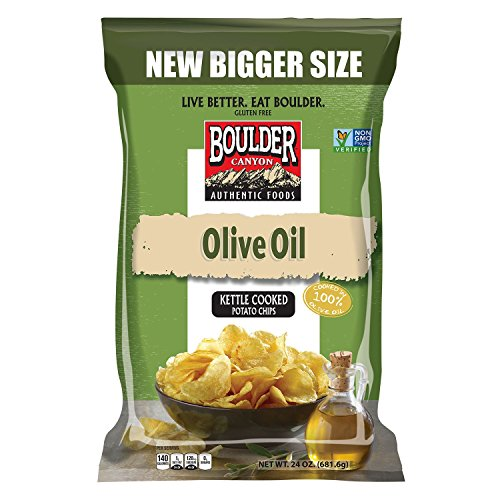 Boulder Canyon Olive Oil Kettle Cooked Potato Chips