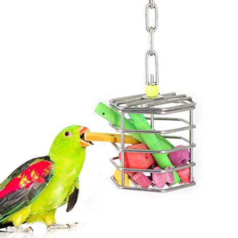 Danigrefinb - Jaula de alimento para pájaros, Loros, Ardillas ...