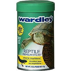 HARTZ Wardley Premium Amphibian and Reptile Food Sticks - 2oz