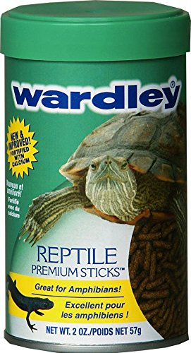 HARTZ Wardley Premium Amphibian and Reptile Food Sticks - 2oz