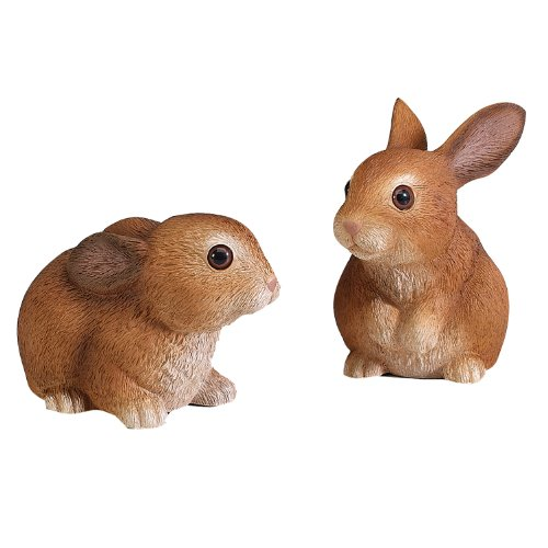 Heritage Decorative Lawn Bunnies, Set of 2