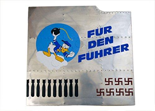 Nose Art Panel- Donald Duck,