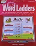 Daily Word Ladders, Grades K-1, Timothy V. Rasinski, 0545374855
