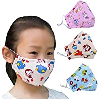 DEE Sons N95 PM 2.5 Anti-Pollution Activated Carbon Face Mask with Breathing Valve Pack Of 2 (Assorted Colour)