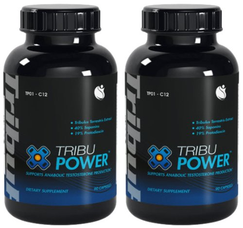 TribuPower Tribulus Terrestris Extract 900mg 180 Capsules 2 Bottles, Health Care Stuffs