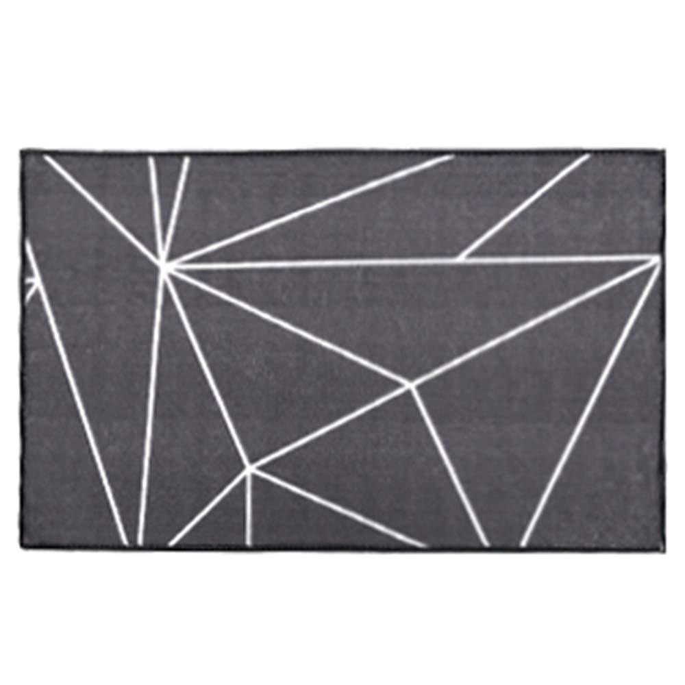 Victoria dream 50180cm Door mat Floor mat - Nylon fabric, absorbent and non-slip, inkjet printing, exquisite edging,geometric kitchen floor mats door mats foyer home bedroom mat bathroom mat bathroom absorbing carpet - 3 si
