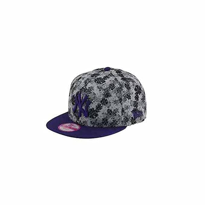 New Era Mujeres Gorras / Gorra Snapback Flower Burst NY Yankees gris Regulable: Amazon.es: Ropa y accesorios