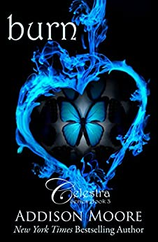 Burn (Celestra Series Book 3) by [Moore, Addison]