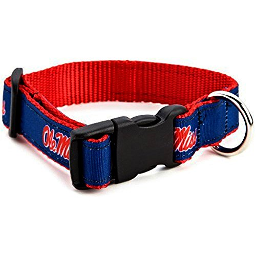 Ole Miss Rebels Dog Collar Small