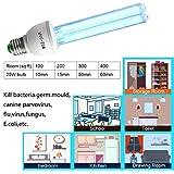 UVC Germicidal Bulb 25w E26/E27 Screw Socket UV