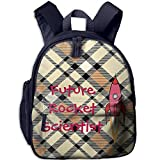 Ojinwangji Future Rocket ScientistChildren's Full-Size Printed Backpack (with Pocket)