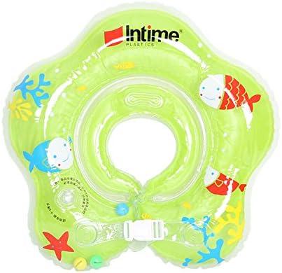 Flotador ibanana ajustable para bebés en forma de anillo, para bebés de 1 – 12 meses, verde: Amazon.es: Deportes y aire libre