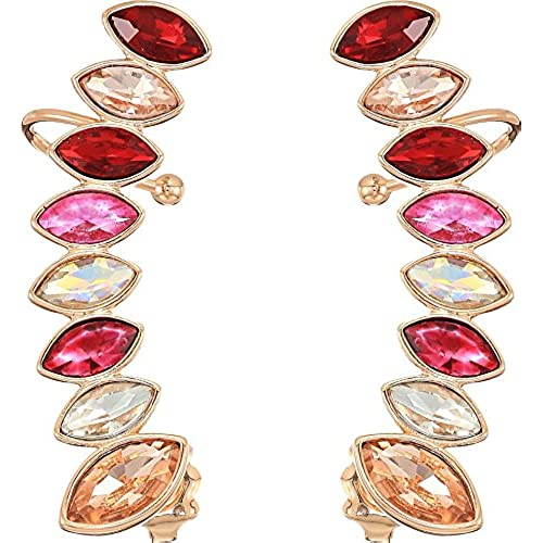 Rebecca Minkoff Womens Stacked Sparkler Ear Climber Earrings big discount