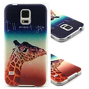 S5 Case,Galaxy S5 Case,Samsung Galaxy S5 Case,Samsung S5 Case,Creativecase beautiful Picture TPU Soft silica gel Design Samsung Galaxy S4 Case Cover for Samsung Galaxy S4 i9500-C15