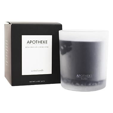 APOTHEKE Charcoal Candle, 11 oz