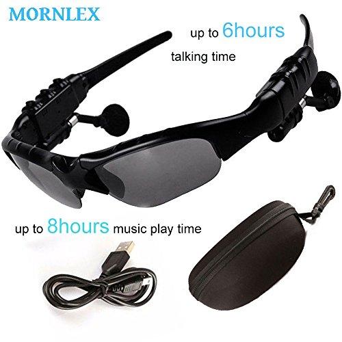 Sunglasses Earphone Wireless Handsfree Headphone Stereo Bluetooth 4.1 Headset With Microphone For Smart Device - Sunglasses Hours 13