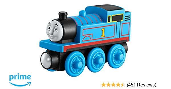 Amazon Com Fisher Price Thomas Friends Wooden Railway Thomas Toys Games