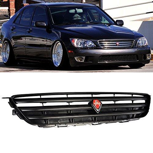 5 Lexus IS300 IS200 Jce2010 | Altezza style ABS Plastic Black Front Bumper Grill Hood Mesh by IKON MOTORSPORTS | 2002 2003 2004 (Abs Hood)