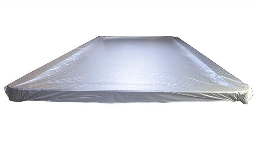 weichster Table de billard snooker Couverture imperméable en plastique lesté Housses