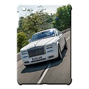 iPad Mini 1 / Mini 2 Retina / Mini 3 Brand PC Ipad Hard Cases With Fashion Design Ipad skins Rolls Royce car logo super