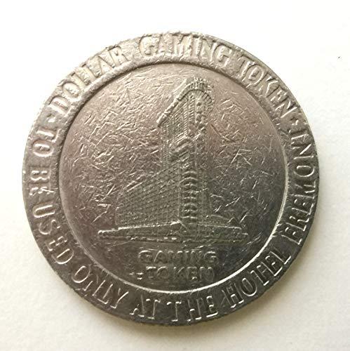1988 Fremont Hotel & Casino, Las Vegas, Nevada One Dollar Gaming Token (Obsolete Design) $1 Used