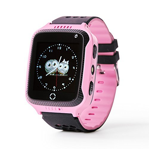 Force Energy Smart Watch – Touch Screen Smart Watch For Kids (Boys & Girls) with GPS, SOS-Call And Camera (Pink)