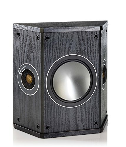 Price comparison product image Monitor Audio Bronze Series FX 2 Way Rear Effects Speakers - Black Oak