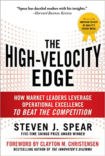 Amazon the high velocity edge how market leaders leverage amazon the high velocity edge how market leaders leverage operational excellence to beat the competition ebook steven j spear kindle store fandeluxe Images