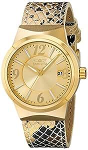 Invicta Women's 17296 Angel Analog Display Japanese Quartz Gold Watch