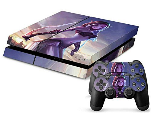 MODFREAKZ™ Console and Controller Vinyl Skin Set - Sexy Elf Goddess for Playstation 4