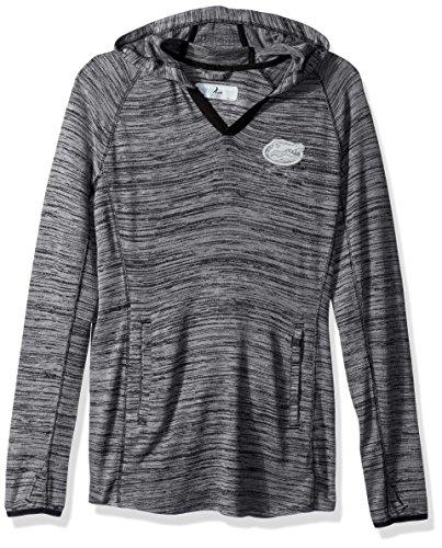 Levelwear LEY9R NCAA Florida Gators Women's Lexi Core Logo Mid-Layer Pullover Top, Small, Heather Pebble ()