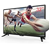 """SANSUI TV LED Electronics Televisions 32"""" 720p TV with Flat Screen TV, HDMI Cable PCA Input High Definition and Widescreen Monitor Display 3 HDMI (2018 Model)"""