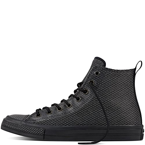 Converse Chuck Taylor All Star High Chucks II Reflective Knit Limited Edition 'Mit reflektierendem Gewebe für verbesserte Sichtbarkeit' Black Reflective 155360C 7 MENS 9 WOMENS 7 UK 40 EU 25.5 CM