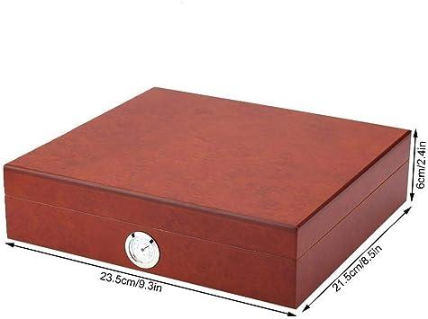 Hecha a mano Mini portátil de la caja de cigarros Humidor de la ...