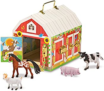 Melissa & Doug Latches Barn Toy