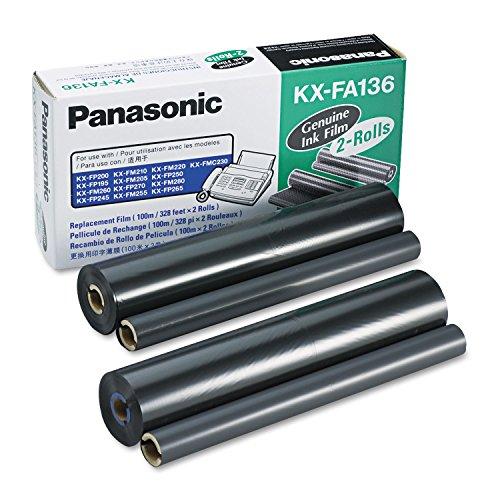 Panasonic KXFA136 KXFA136 Film Roll Refill, 2/Box