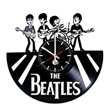 In My Life Beatles Vinyl Wall Clock - Get unique home room wall decor - Gift ideas for friends, parents – Rock Band Unique Art Design - Leave us a feedback and win your custom clock
