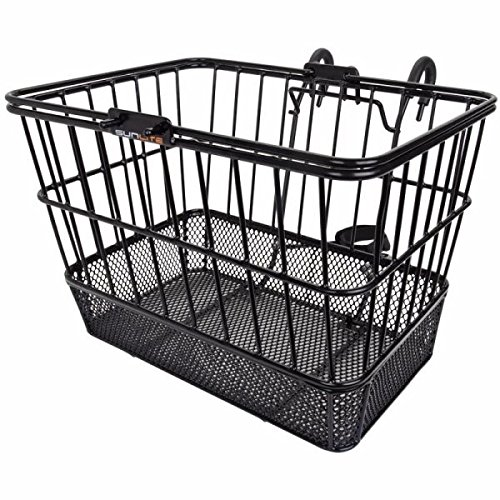 Sunlite Standard Mesh Bottom Lift-Off Basket w/Bracket, Blac