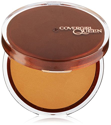 (CoverGirl Queen Collection Lasting Matte Pressed Powder, Golden Medium 0.37 oz )