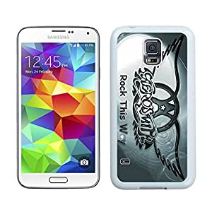 Hot Sale Samsung Galaxy S5 I9600 Case ,Popular And Unique Designed With Aerosmith 2 White Samsung Galaxy S5 I9600 High Quality Cover