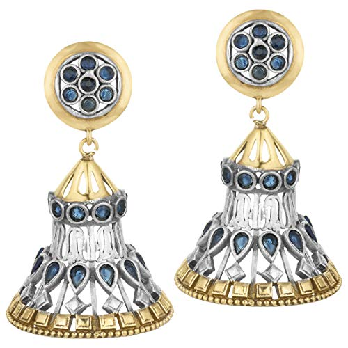 Aheli Indian Bohemian Oxidized Finish Dangle Earrings Indian Ethnic Wedding Fashion Jewelry for Women Girls (Best Selling Perfumes For Ladies In India)