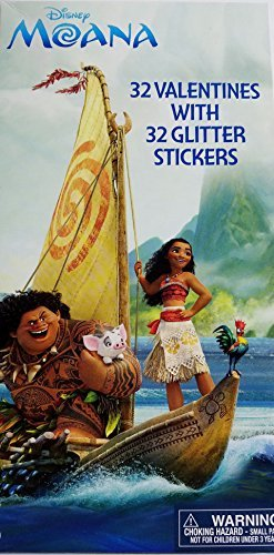 Disney Moana 32 Cards